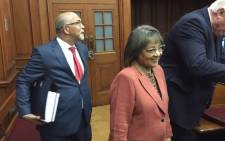 Cape Town Mayor Patricia de Lille seen at the Western Cape High Court on 5 June 2018. Picture: Lindsay Dentlinger/EWN