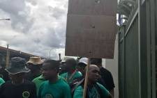 Six suspects appeared in court for bail proceedings on 21 February 2018 after they were arrested for alleged links to union killings in and around Marikana. Picture: Masechaba Sefularo/EWN