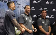 Ryan Crotty and  Sonny Bill Williams were among the players at the meet and greet, even taking part in a ball skills challenge with fans. Photo: Bertram Malgas