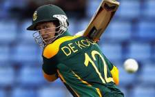 Hashim Amla says Quinton de Kock will undoubtedly start scoring more runs at the Cricket World Cup. Picture: CSA