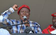 """Julius Malema says President Jacob Zuma must be """"disappointed"""" that he's running his own political party and not """"selling loose cigarettes""""."""