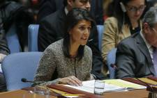 US ambassador to the United Nations Nikki Haley. Picture: AFP