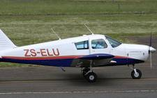 A small plane about to takes to the sky. Picture: Eyewitness News