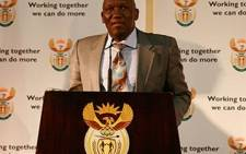 New National Police Commissioner Bheki Cele addresses the media at the Union Buildings during his appointment on 29 July 2009. Picture: Taurai Maduna/Eyewitness News