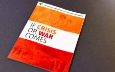 Swedish Civil Contingencies Agency presents the new brochure 'If Crisis or War Comes' during a press conference in Stockholm, Sweden on 21 May 2018. Picture: Reuters