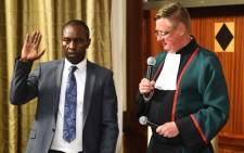 FILE: New Minister of Mineral Resources Mosebenzi Joseph Zwane was sworn in at the Union Buidings in Pretoria on 23 September 2015. Picture: GCIS.