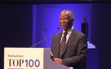 Former President Thabo Mbeki. Picture: Kgothatso Mogale/EWN