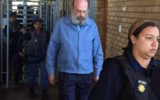FILE: Former police officer Christiaan Prinsloo exists court. Picture: Siyabonga Sesant /EWN.