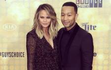 FILE: John Legend and his wife Chrissy Teigen. Picture: John Legend via Instagram.
