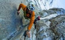 Swiss climber Ueli Steck. Picture: Twitter/@FabianKeiser.