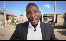 The DA's candidate for Gauteng premier Mmusi Maimane is seen in the party's 'Ayisafani 2' election campaign advert. Picture: Screenshot from YouTube.