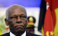 This file photo taken on 17 August 2011 shows former Angolan President Jose Eduardo dos Santos. Picture: AFP.