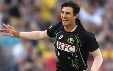 FILE:Australian T20 bowler Mitchell Starc. Picture: Facebook.com