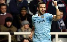 FILE: Manchester City's Alvaro Negredo will need to be in top form when City take on Barcelona in the UEFA Champions League. Picture: Facebook.