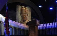 FILE: Ninety-five candles that resemble the years of former President Nelson Mandela at the State Funeral held in Qunu, Eastern Cape. Picture: GCIS.