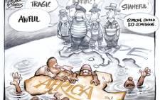 EWN Cartoon: Dr Jack & Curtis