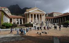 University of Cape Town. Picture: Facebook/Michael Currin.