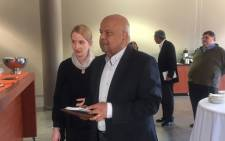 Former Finance Minister Pravin Gordhan at the University of Johannesburg. Picture: Masa Kekana/EWN
