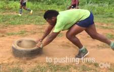 CNN World Rugby takes a look at Fijian rugby team Yamacia, who train in a unique way using the environment around them. Picture: CNN