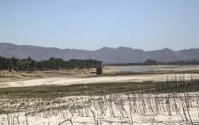 The Department of Water and Sanitation conducted a site visit at the Theewaterskloof Dam near Cape Town on 22 February 2018. Picture: Cindy Archillies/EWN