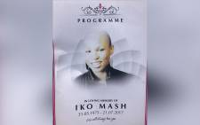 Iko Mash remembered in Bassline, Johannesburg, on Thursday. Picture: Kgothatso Mogale/EWN