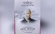 Iko Mash remembered in Bassline, Johannesburg, on Thursday. Picture: Kgothatso Mogale/EWN