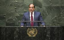 Egyptian President Abdel Fattah Al Sisi. Picture: United Nations Photo.