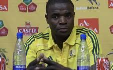 Former Bafana Bafana captian Aaron 'Mbazo' Mokoena. Picture: Eyewitness News