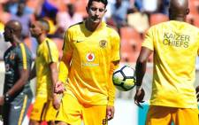 Kaizer Chiefs' new striker Leonardo Castro (centre) scored on his debut against Baroka FC. Picture: Twitter/@KaizerChiefs