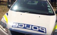 Police car. Picture: Masa Kekana/EWN.