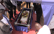 Three-year-old Everlyn Chauke is laid to rest. Picture: Kgothatso Mogale/EWN