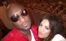 FILE: Khloe Kardashian & Lamar Odom. Picture: Khloe & Lamar/Khloe Kardashian/Facebook.