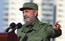 Fidel Castro. Picture: AFP.