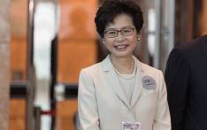 Hong Kong leader Carrie Lam. Picture: AFP.