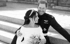 FILE: The Duke and Duchess of Sussex pictured on their wedding day 19 May 2018. Picture: Alexi Lubomirski/@KensingtonRoyal/Twitter