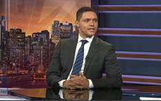 Anele Mdoda interviews Trevor Noah. Picture: Anele Mdoda/Supplied.