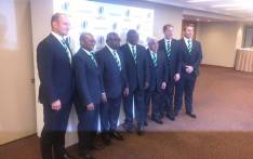 A delegation led by deputy president Cyril Ramaphosa in London to convince international rugby administrators why South Africa should host 2023 Rugby World Cup. Picture: @SPORTandREC_RSA/Twitter