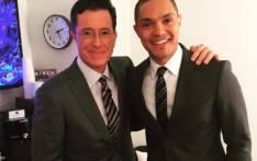 FILE: Comedians, Stephen Colbert and Trevor Noah. Picture: Instagram