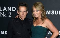 Ben Stiller and Christine Taylor. Picture: Facebook.