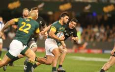 FILE: The Springboks take on the All Blacks in a Rugby Championship match. Picture: @Springboks/Twitter