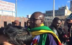 Zimbabwean Pastor Evan Mawarire. Picture: ThisFlag Facebook page.