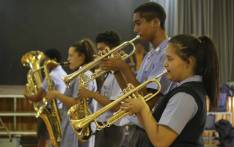 The Settlers High School's Dynamix Jazz Band. Picture: Cindy Archillies/EWN