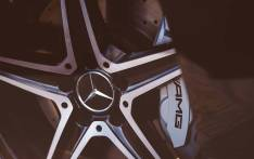 FILE: A Mercedes logo is seen on a wheel of an AMG. Picture: Facebook.com.