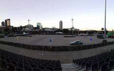 A view from the grandstand at the Grand Parade in Cape Town, where the Drift City Motor Show takes places on Sunday, 24 September 2017. Picture: Drift City/facebook.com