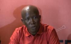 FILE: EFF leader Julius Malema. Picture: Kgothatso Mogale/EWN.