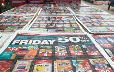 A pamphlet showing Black Friday deals at Checkers. Picture: Christa van der Walt /EWN