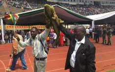 Supporters of new Zimbabwe president Emmerson Mnangagwa at his inauguration at the national sports stadium in Harare on 24 November 2017. Picture: EWN