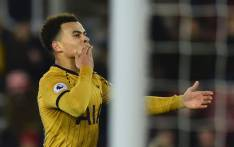 FILE: Tottenham midfielder Dele Alli celebrates a goal. Picture: Tottenham Hotspur/Facebook.com