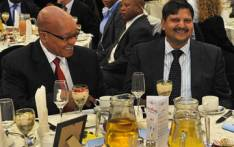President Jacob Zuma and Atul Gupta. Picture: Kopano Tlape/GCIS