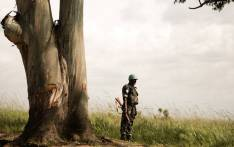 A United Nations peacekeeper patrols the Katanga area in the eastern Democratic Republic of the Congo. Picture: United Nations Photo.
